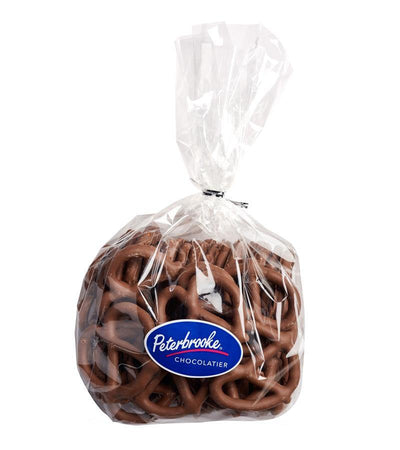 Large Hand-Dipped Milk Chocolate Pretzel Twists - Peterbrooke Chocolatier