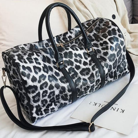 bolsa estampado animal
