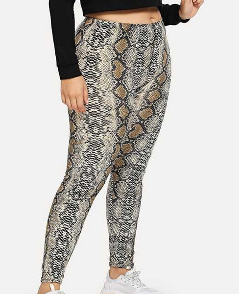 legging animal print talla grande