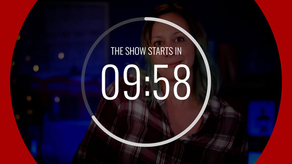 Classic Live Streaming Countdown Timer