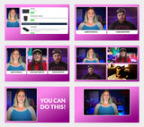 """Curvy"" Overlay Pack for LIVE Shows"