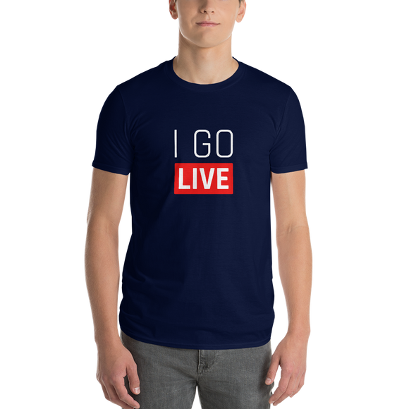 Men's I Go LIVE Short-Sleeve T-Shirt