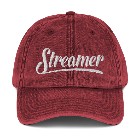 Vintage Streamer Cotton Twill Cap