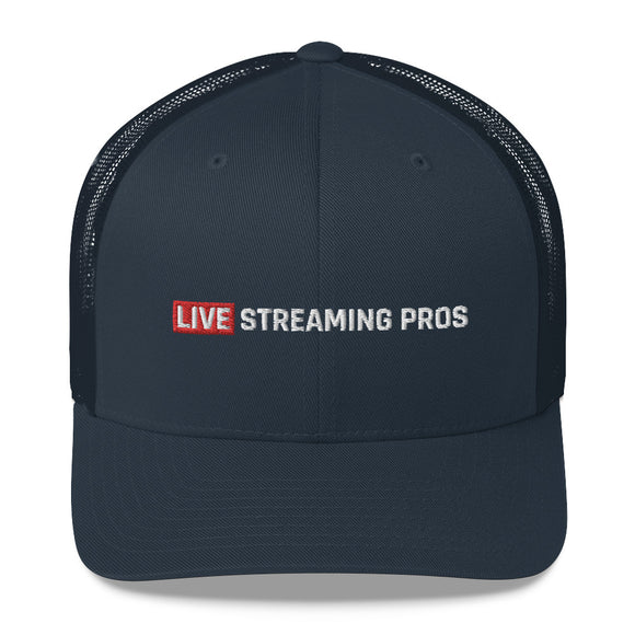 Live Streaming Pros Trucker Cap