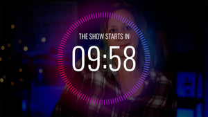 Animated Live Streaming Countdown
