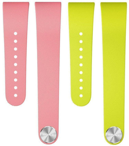 Sony SWR310 SmartBand Talk Wrist Strap Pink & Lime for White Small - Uk Mobile Store