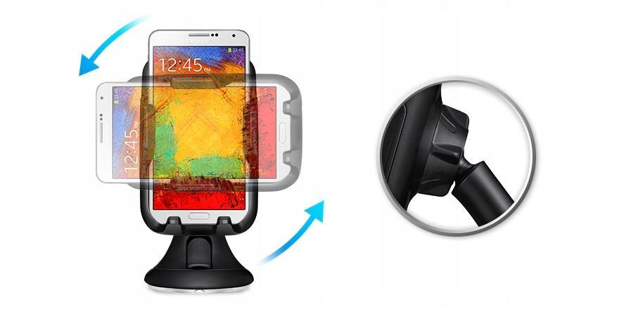Official Samsung Galaxy S20 / S20 Plus Vehicle Dock Windscreen Mount - Uk Mobile Store