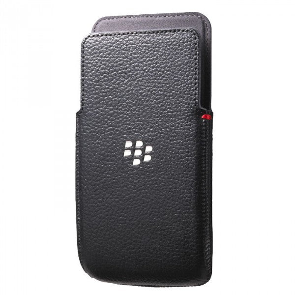 Official Blackberry Z30 Leather Pocket Case Black - ACC-57196-001