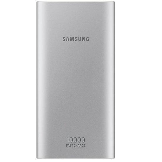 Official Samsung Type-C 10,000mAh Power Bank Battery Pack Silver - EB-P1100CSEGWW