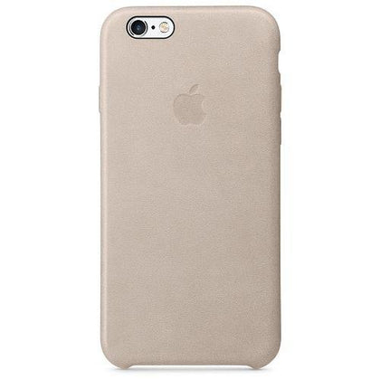 Official Apple iPhone 6 / 6S Leather Case Grey