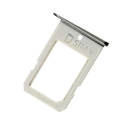 Samsung Galaxy S6 Edge Replacement Sim Card Tray Silver