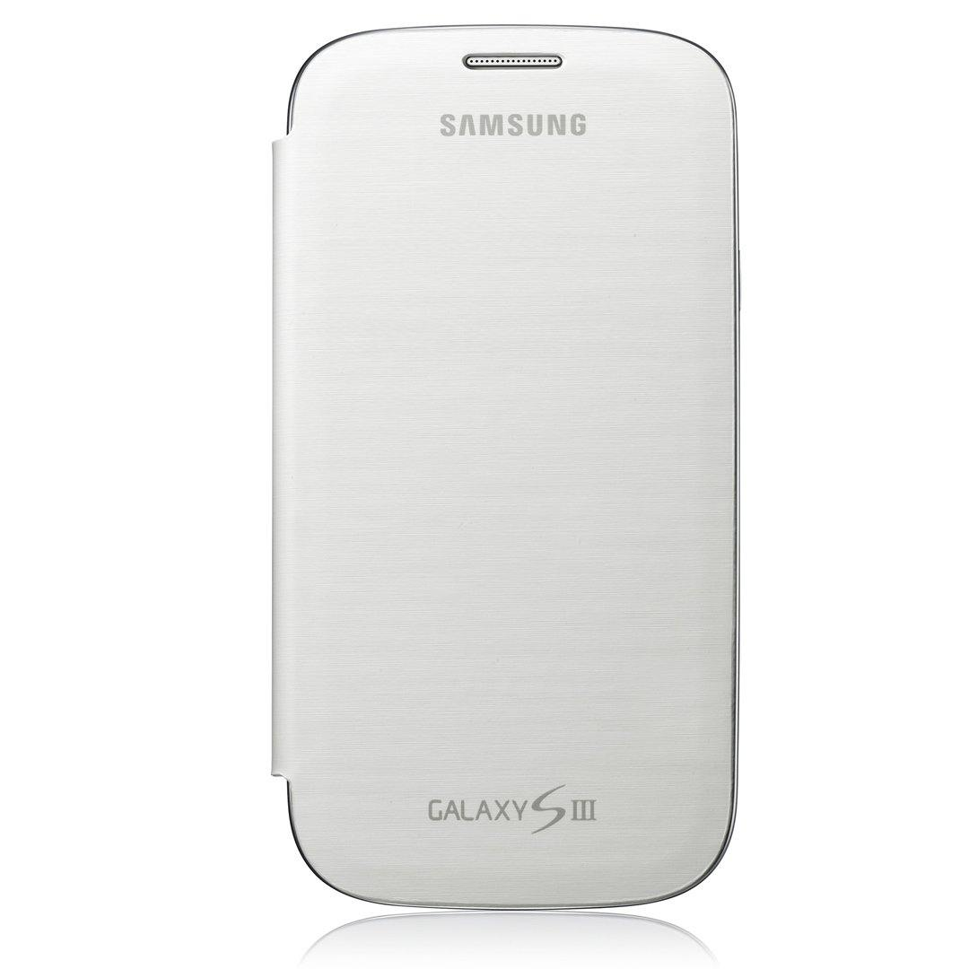 Genuine Samsung Galaxy S3 Flip Cover - Marble White - EFC-1G6FWECSTD - Uk Mobile Store