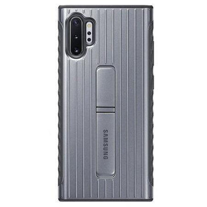 Official Samsung Galaxy Note 10 Plus Protective Stand Case - Silver