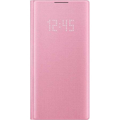 Official Samsung Galaxy Note 10 LED View Cover Case - Pink - Uk Mobile Store