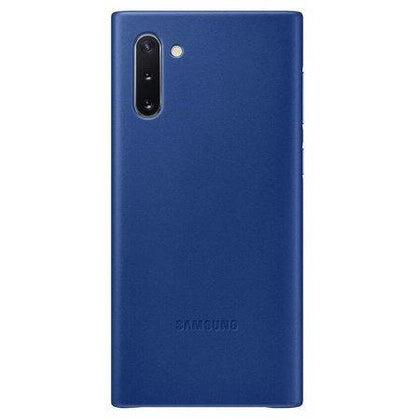 Official Samsung Galaxy Note 10 Leather Cover Case - Blue