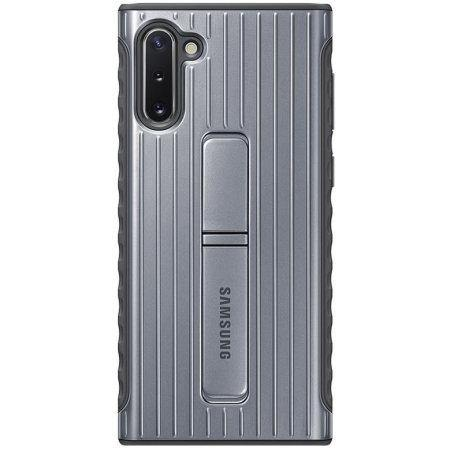 Official Samsung Galaxy Note 10 Protective Standing Case - Silver