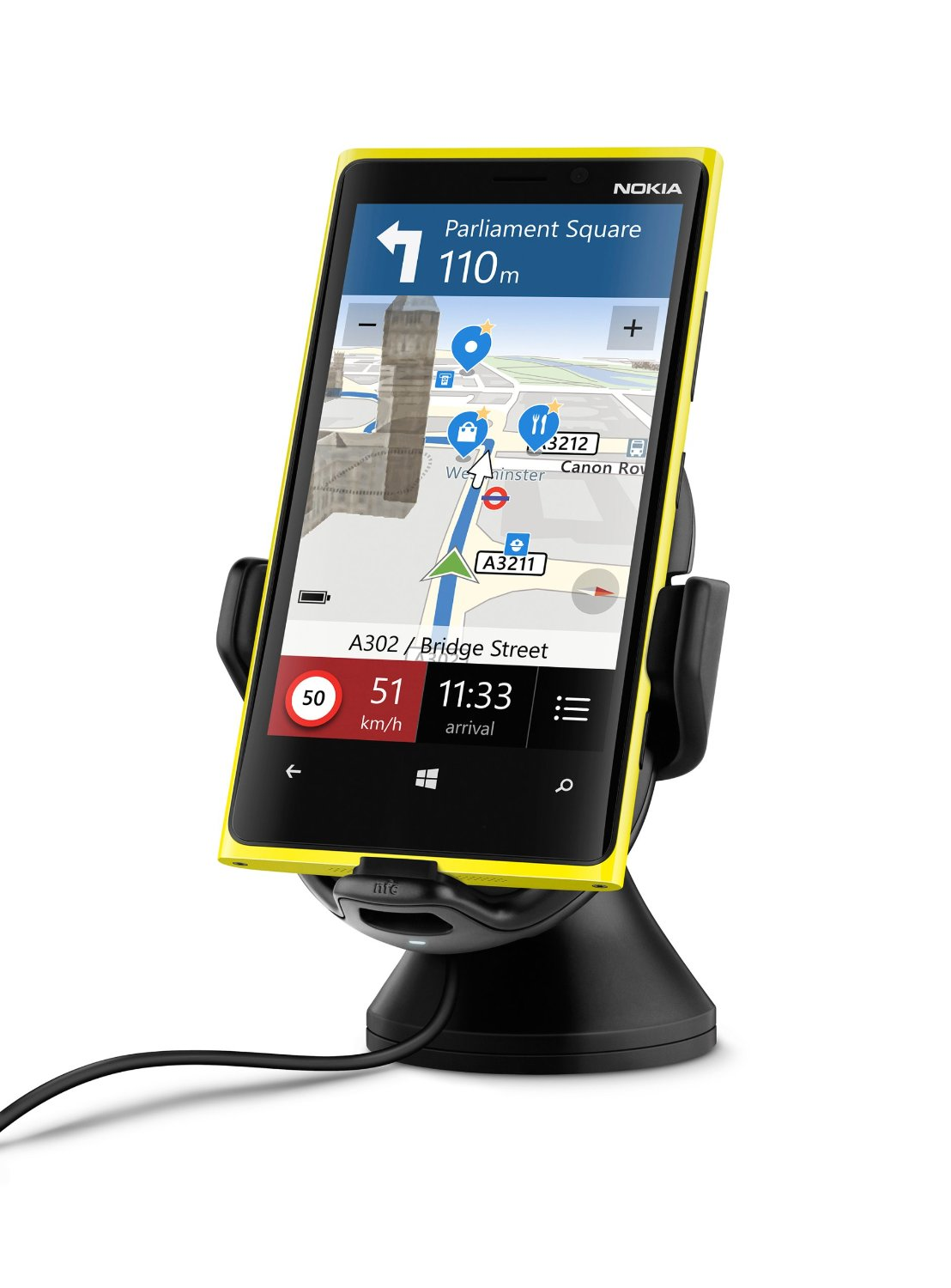 Nokia CR-201 Wireless Charging Car Holder