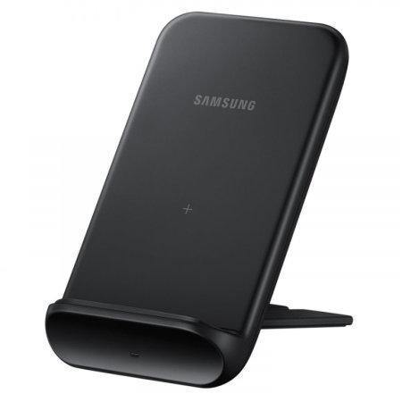 Official Samsung Foldable Fast Wireless Charger Stand 9W Black With UK Charger - Uk Mobile Store