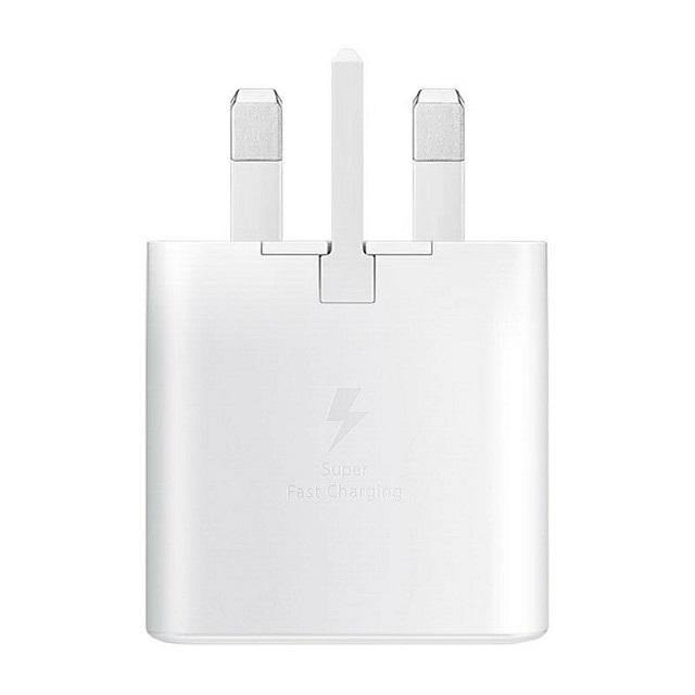 Official Samsung Galaxy Note 10 / Note 10 Plus 25W Fast UK Charger White EP-TA800 - Uk Mobile Store