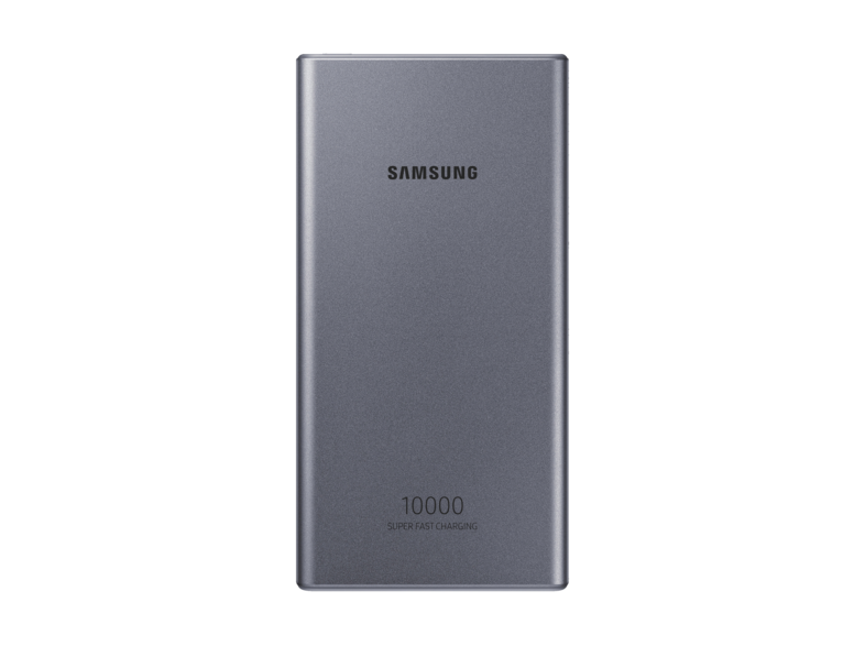 Official Samsung Type-C 10,000mAh 25W Power Bank Battery Pack Grey - EB-P3300XJEGEU
