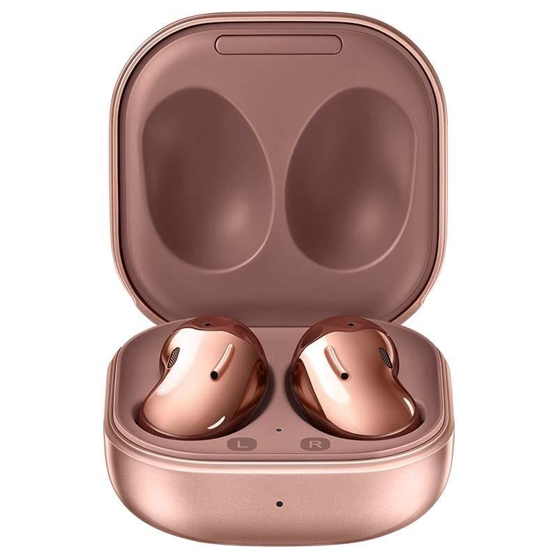 Official Samsung Galaxy Buds Live Wireless Earphones Mystic Bronze SM-R180 - Uk Mobile Store