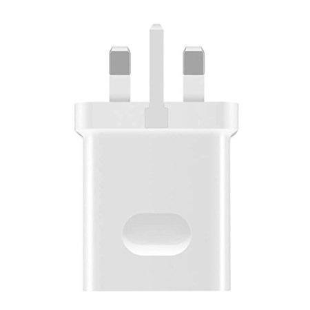 Official Huawei P30 Pro 40W UK White SuperCharge Type C Mains Charger