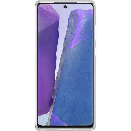 Official Samsung Galaxy Note 20 Case - Clear - Uk Mobile Store