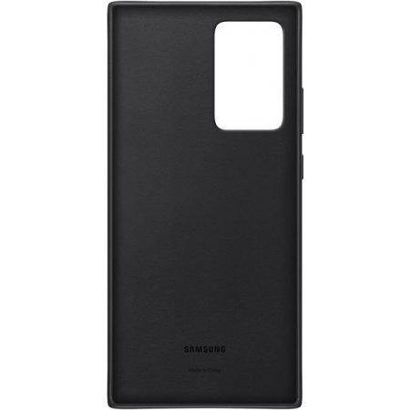Official Samsung Galaxy Note 20 Ultra Leather Cover Case - Black