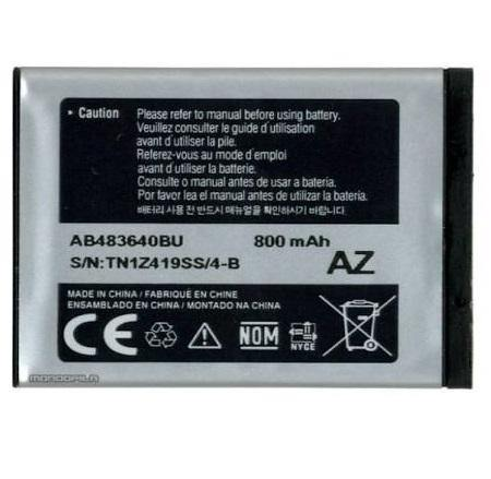 Genuine Samsung AB483640BU Battery