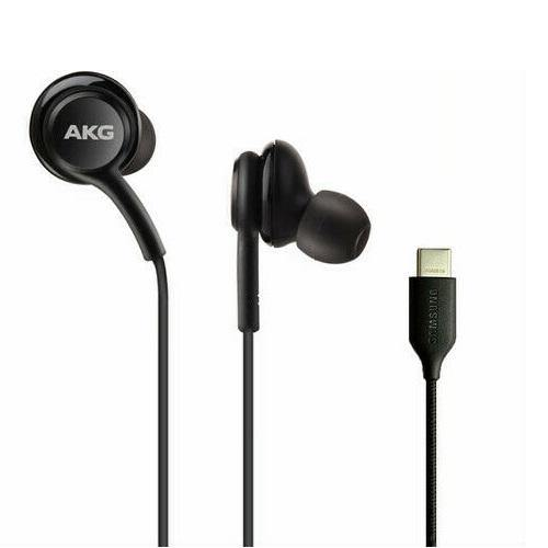 Official Samsung Galaxy S20 / S20 Plus AKG Type-C Headset Earphone Headphones Black - Uk Mobile Store