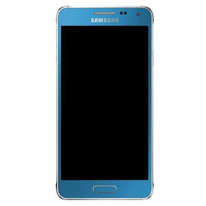 Genuine Samsung Galaxy Alpha LCD Screen with Digitizer - Blue - Uk Mobile Store