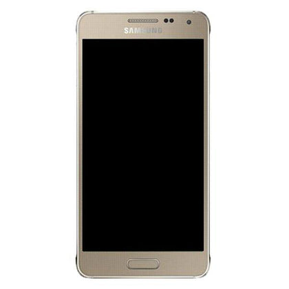Genuine Samsung Galaxy Alpha LCD Screen with Digitizer - Gold - Uk Mobile Store