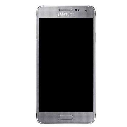 Genuine Samsung Galaxy Alpha LCD Screen with Digitizer - Silver - Uk Mobile Store