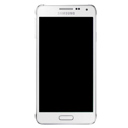 Genuine Samsung Galaxy Alpha LCD Screen with Digitizer - White - Uk Mobile Store