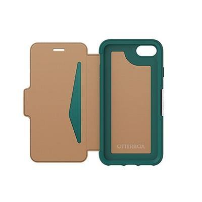 OtterBox Apple iPhone 7 / iPhone 8 Strada Folio Leather Case Pacific Opal
