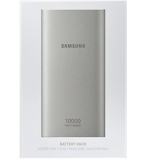 Official Samsung Micro USB 10,000mAh Power Bank Battery Pack - EB-P1100BSEGWW - Uk Mobile Store