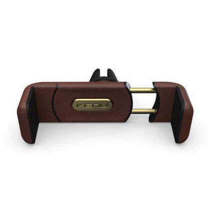 Kenu Airframe+ Leather Edition In-Car Smartphone Mount & Stand Brown