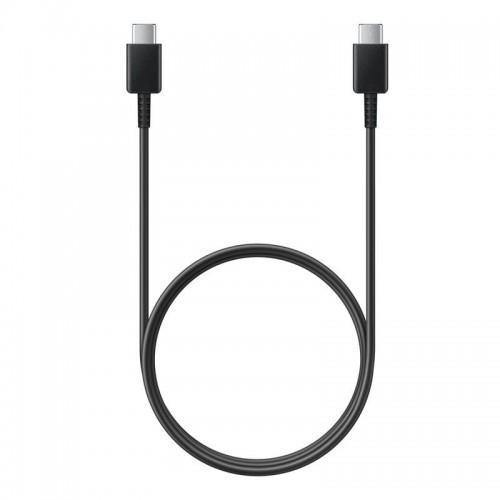 Official Samsung Galaxy S20 / S20 5G USB-C to USB-C Cable 1m Black EP-DA705BBE - Uk Mobile Store