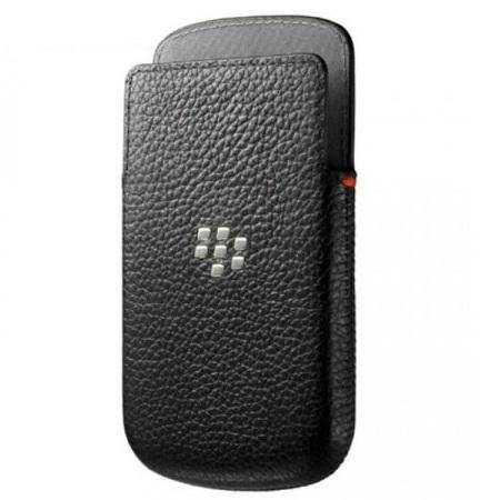 BlackBerry Q10 Leather Pocket Black - ACC-50704-201 - Uk Mobile Store