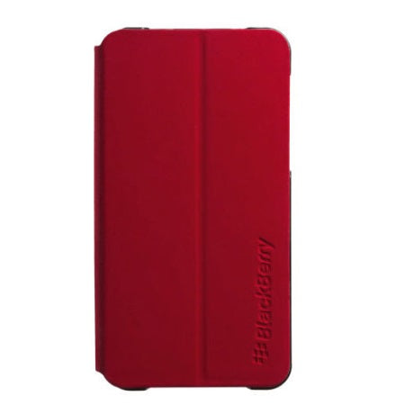 Official Blackberry Z10 Flip Shell Case Red - ACC-49284-203