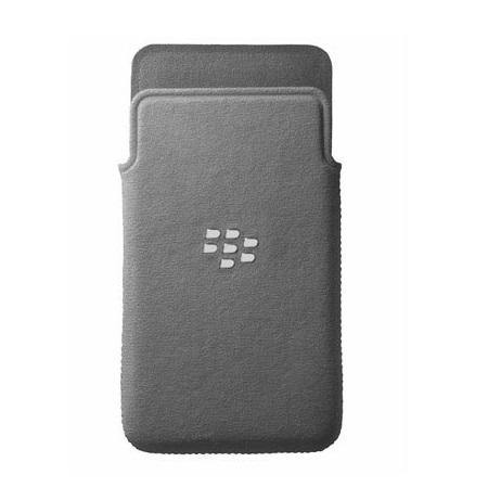 Blackberry Z10 MicroFibre Pocket - ACC-49282-201 - Grey
