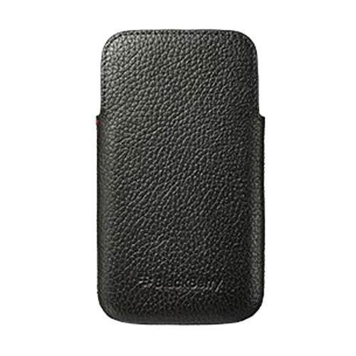 Blackberry Classic Leather Pocket Pouch Black - ACC-60087-001