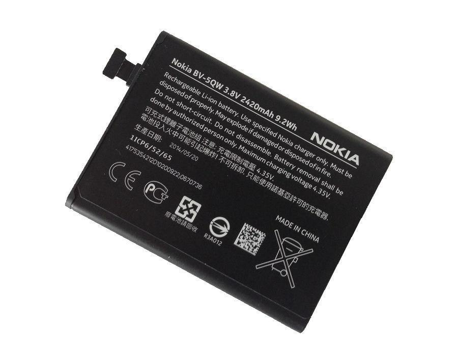 Official Nokia Lumia 930 Battery - BV-5QW - Uk Mobile Store