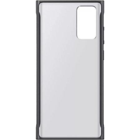Official Samsung Galaxy Note 20 Clear Protective Case - Black - Uk Mobile Store