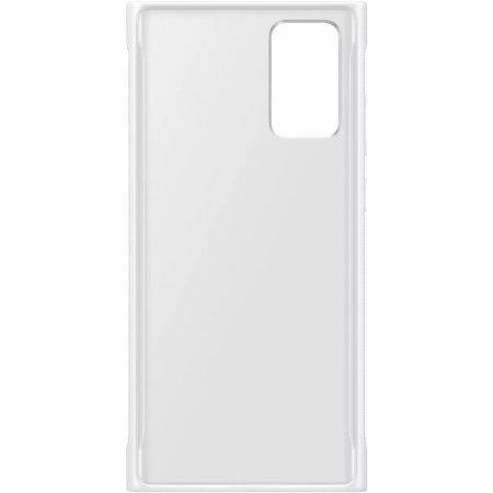 Official Samsung Galaxy Note 20 Clear Protective Case - White - Uk Mobile Store