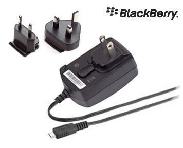 BlackBerry International Micro USB Mains Travel Charger - Black