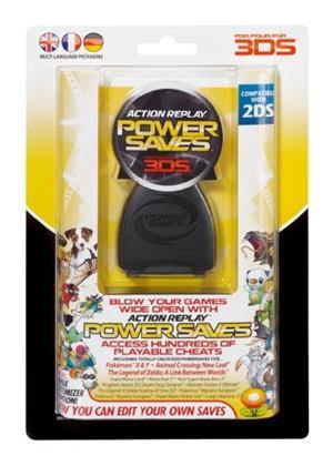 Datel Action Replay Power Saves Nintendo3DS - (NTSC USA VERSION)
