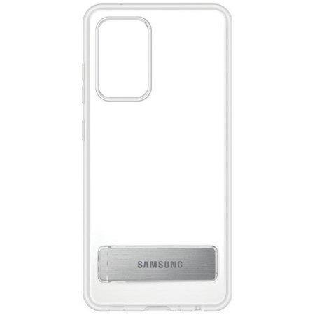 Official Samsung Galaxy A52 Standing Cover Clear - Uk Mobile Store