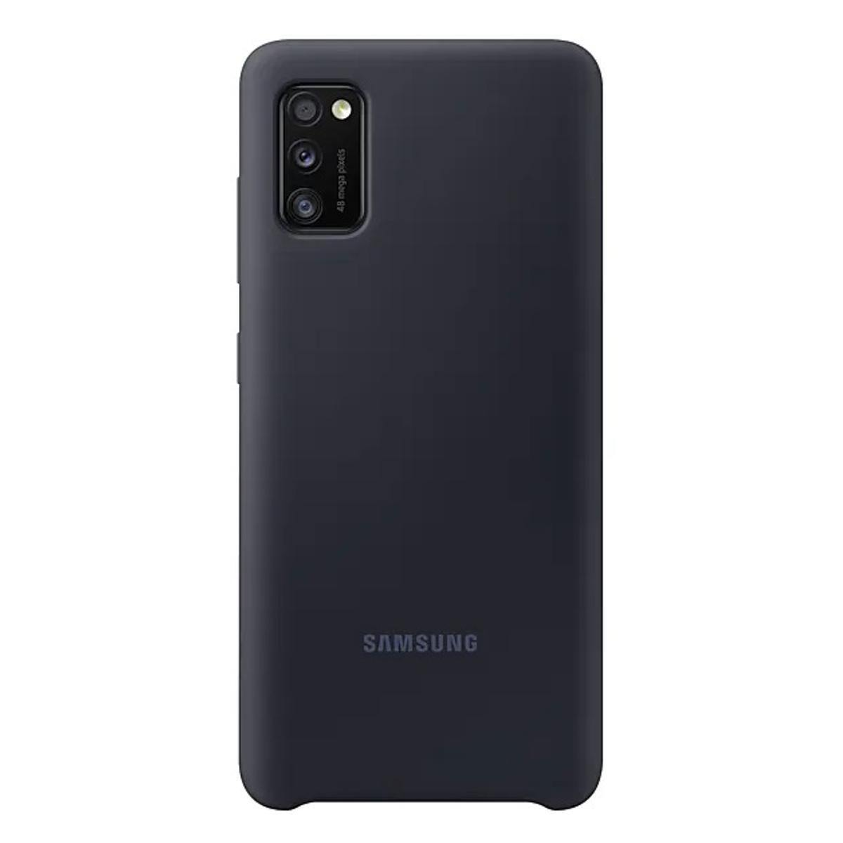 Official Samsung Galaxy A41 Silicone Cover Case Black EF-PA415TBEGEU