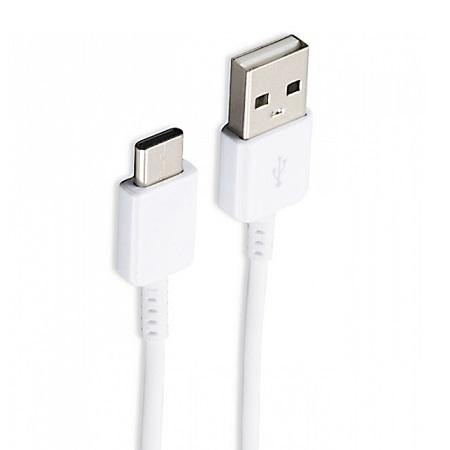 Official Samsung Galaxy A21 USB Type C Fast Charge Charger Cable White - Uk Mobile Store